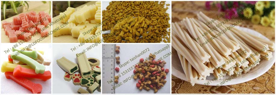 Factory price animal feed pellet make extruder for dog fish cat bird pet