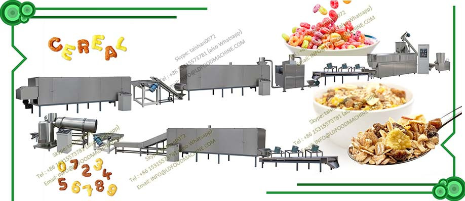 Breakfast cereal/corn flakes snacks food make machinerys/extruders