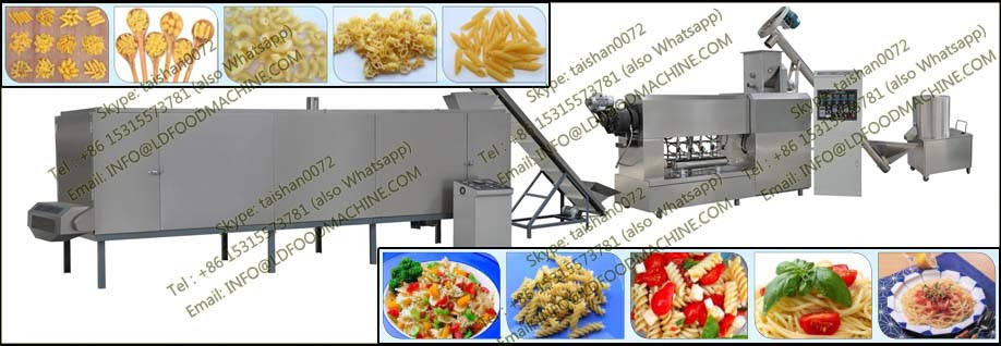 Artifical rice production processing machinery extruder equipment