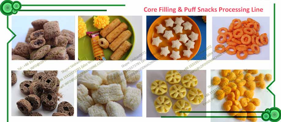 High quality Puffing  Production Line/Corn Flakes make