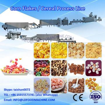 Breakfast cereals extruder machinery process line from Jinan LD