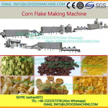 Extruding Breakfast Cereal Corn Flakes Extruding machinery