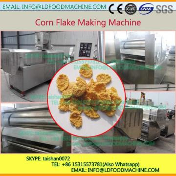 China Double Screw Extruder Corn Flats Industrial Plant